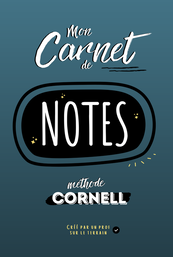 Carnet de notes méthode Cornell